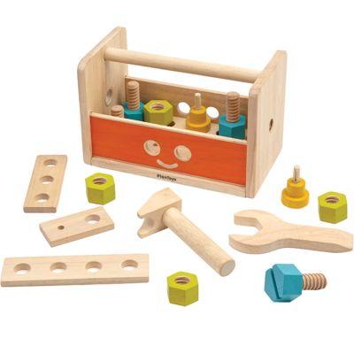 Robot établi trousse à outils en bois d'hévéa  par Plan Toys