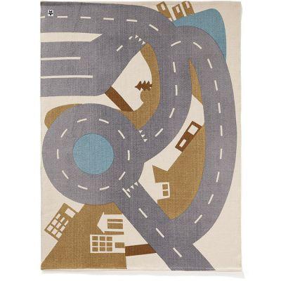 Tapis routes pour voitures City rug Aiden (130 x 170 cm)  par Kid's Concept