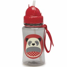 Gourde à paille Zoo panda (350 ml)