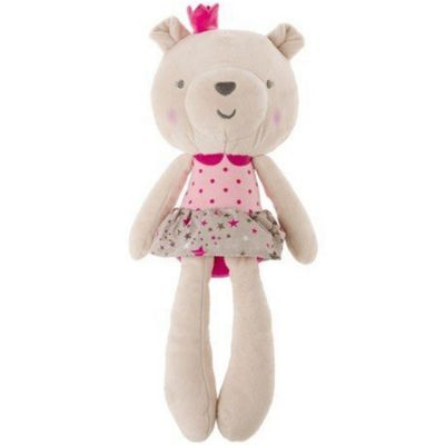 Peluche ours rose Stories (37 cm) Tuc Tuc