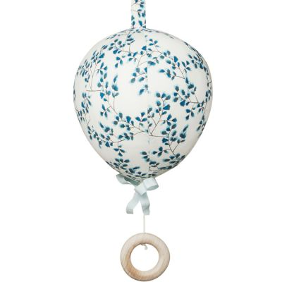 Mobile musical montgolfière Fiori bleu  par Cam Cam Copenhagen