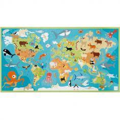 Puzzle animaux du monde (100 pièces)