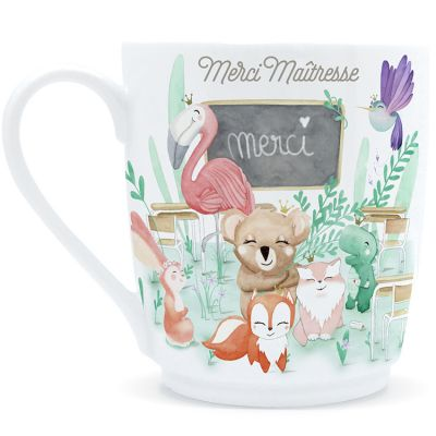 Mug Merci Maîtresse (400 ml)  par Gaëlle Duval