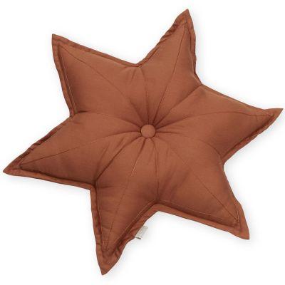 Coussin étoile caramel (48 cm)  par Cam Cam Copenhagen