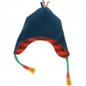 Bonnet Les Zig & Zag bleu (6-12 mois) - Moulin Roty