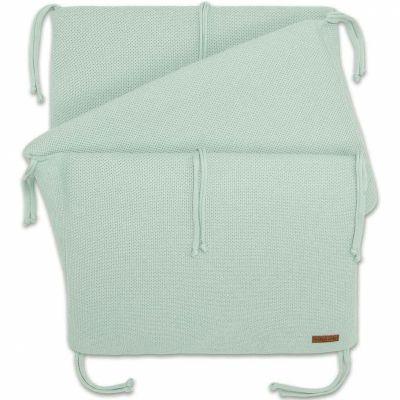 tour de lit classic vert menthe poudr pour lit 60 x 120. Black Bedroom Furniture Sets. Home Design Ideas