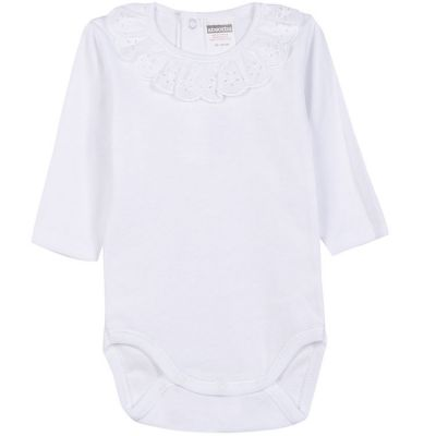 Body col manches longues blanc (18 mois : 81 cm) Absorba