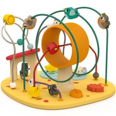 Jeu d'activités looping Poulette & Cie  par Janod