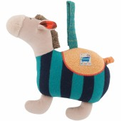 Peluche musicale cheval Les Zig et Zag (24 cm) - Moulin Roty