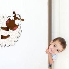 Sticker de porte mouton (côté gauche)