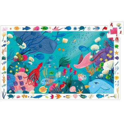Puzzle Aquatique (54 pièces)  par Djeco