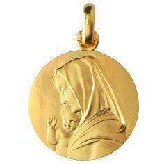 Vierge à l'enfant recto/verso (or jaune 750°)