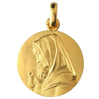 Vierge à l'enfant recto/verso (or jaune 750°)  par Monnaie de Paris
