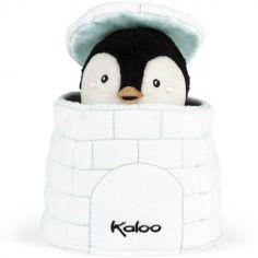 Marionnette cache-cache pingouin Gabin Kachoo