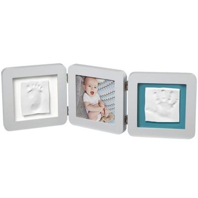 Cadre photo empreinte My Baby Touch double pastel  par Baby Art