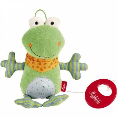 Peluche musicale grenouille (21 cm) Sigikid