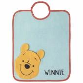Bavoir passe-tête Bagolo Winnie poche réversible - Babycalin