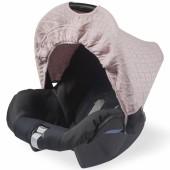 Capote pour maxi cosy Diamond knit vintage rose - Jollein