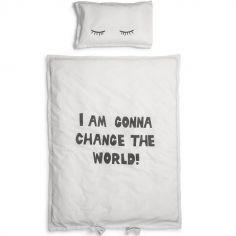 Parure de lit Change the World (100 x 130 cm)