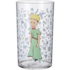Gobelet transparent Le Petit Prince (220 ml)