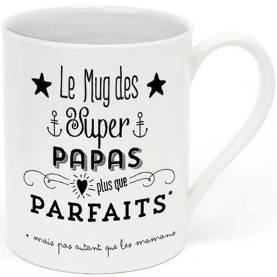 Mug Le mug des supers papas  par Créa Bisontine