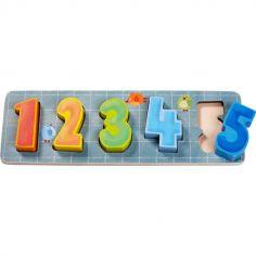 Puzzle à encastrement A toi de compter ! (5 pièces)