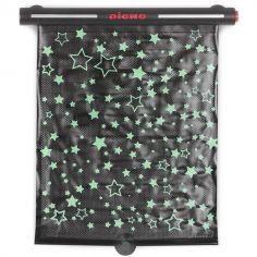 Pare-soleil phosphorescent enroulable Starry night sunshade pour voiture