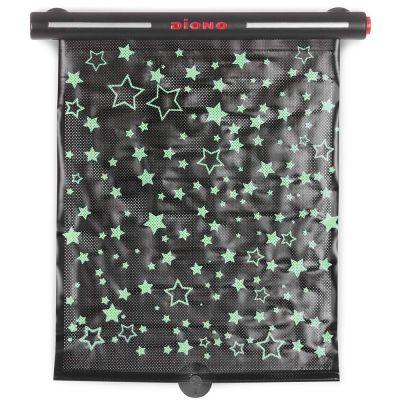 pare soleil phosphorescent enroulable starry night sunshade. Black Bedroom Furniture Sets. Home Design Ideas