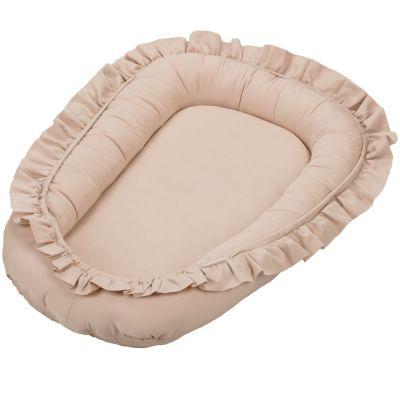 Réducteur de lit beige nude  par Cotton&Sweets