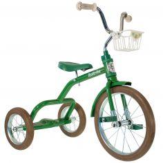 Tricycle Spokes avec panier avant 16'' vert