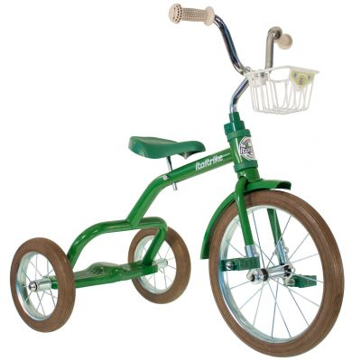 Tricycle Spokes avec panier avant 16'' vert Italtrike