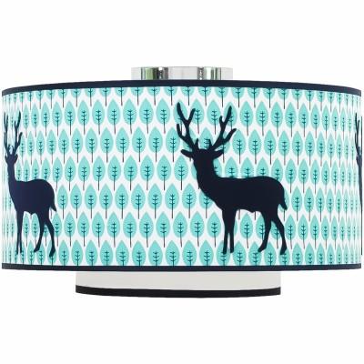 Abat-jour Blue deer (diamètre 35 cm)  par Taftan