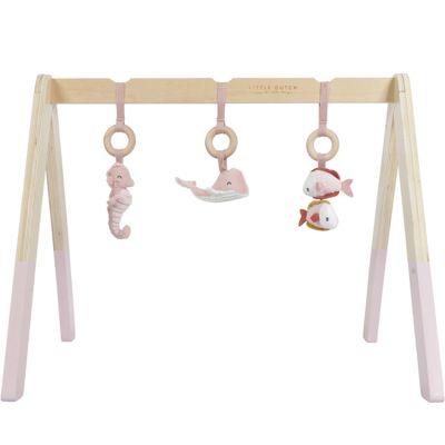Arche de jeux en bois Ocean pink  par Little Dutch