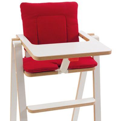 Coussin chaise haute Signature Red  par SUPAflat