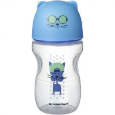 Tasse à bec en silicone Soft Sippee Transition bleue (300 ml)