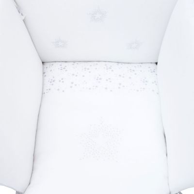 Tour de lit étoiles Constellation (pour lits 60 x 120 et 70 x 140 cm)  par Nougatine