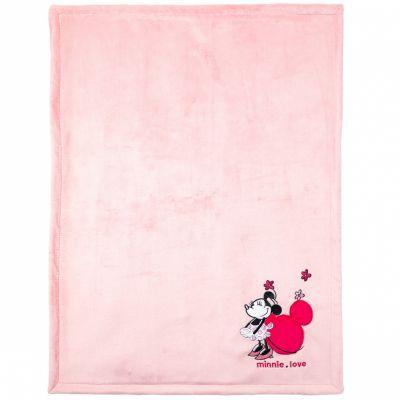 Couverture velours Minnie Love (75 x 100 cm)  par Babycalin