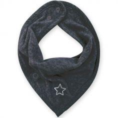 Bavoir bandana étoile Stary gris foncé