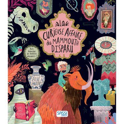 Livre La curieuse affaire du mammouth disparu Sassi Junior