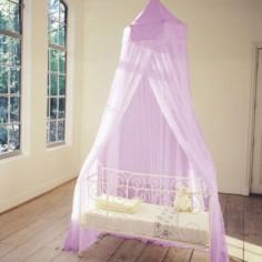 Moustiquaire pour lit lilas