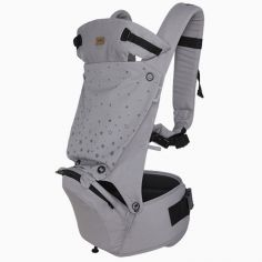 Porte-bébé Hip Seat Weekend Constellation Etoile gris