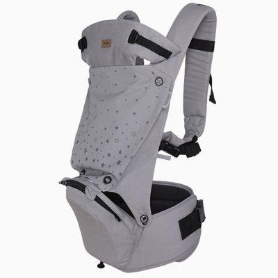 Porte bébé Hip Seat Weekend Constellation Etoile gris  par Tuc Tuc