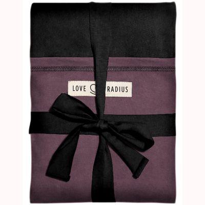 Echarpe de portage L'Originale noire poche prune Je Porte Mon Bébé / Love Radius