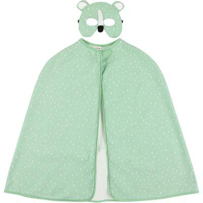 Cape et masque déguisement ours Mr. Polar Bear (3-7 ans)  par Trixie