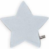 Doudou plat étoile Classic bleu ciel (30 x 30 cm) - Baby's Only