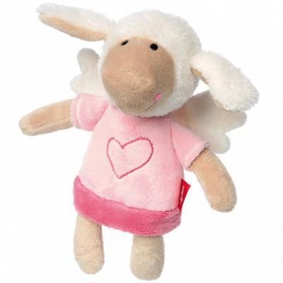 Peluche mouton ange gardien rose (22 cm) Sigikid