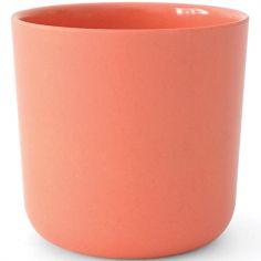 Gobelet en bambou Bambino rose corail (250 ml)