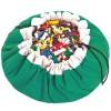 Sac à jouets 2 en 1 vert - Play&Go