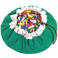 Sac à jouets 2 en 1 vert