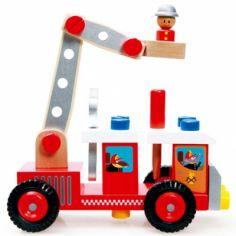 Camion de pompier à construire (26 pièces)
